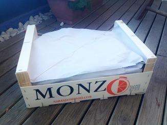 Caja de naranjas de 5 kg peparada para venta online